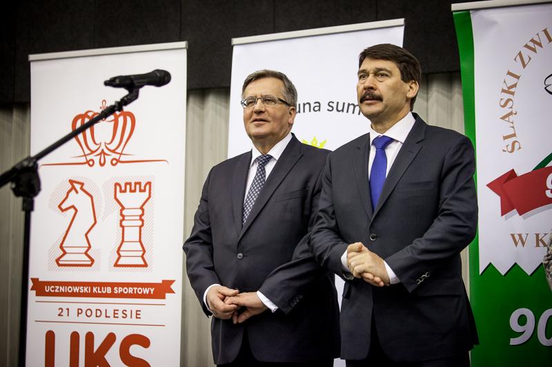 Bronisław Komorowski and Janos Ader