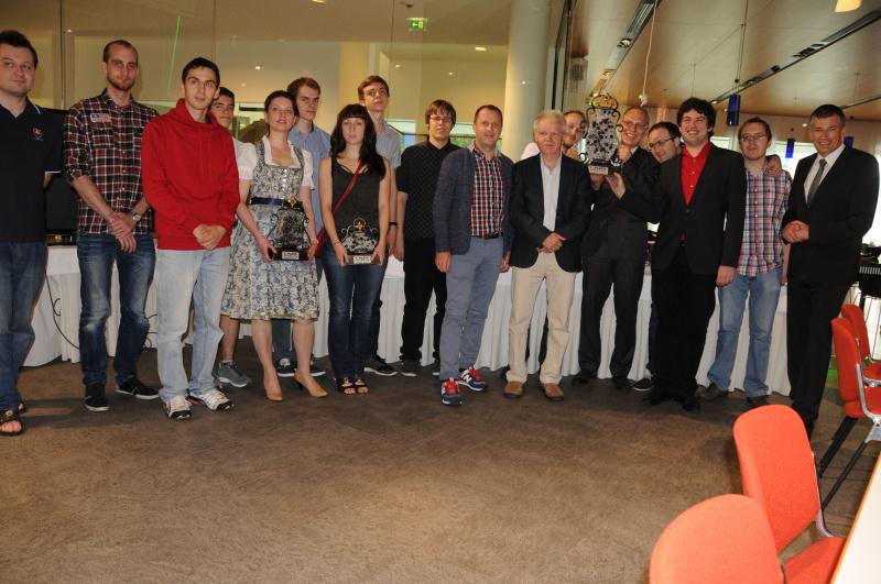 Open section winners
