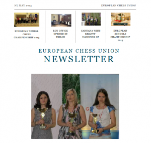 newsletter may cover