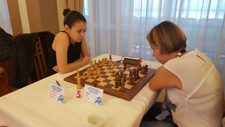 Goryachkina vs Zimina