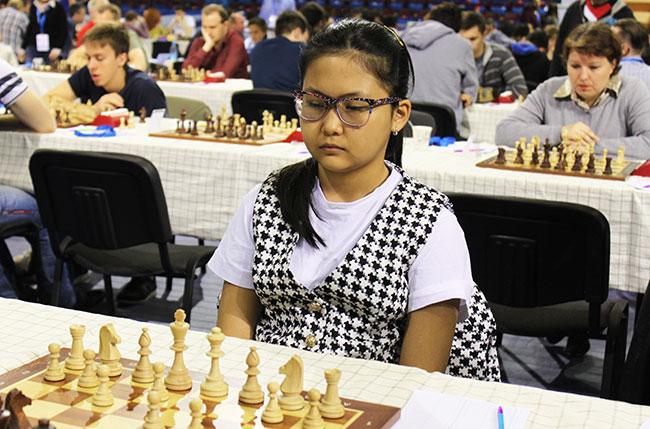 13 year old Assaybayeva Bibisara achieved IM norm