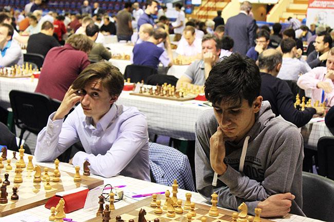 Daniil Dubov and Arman Mikaelyan