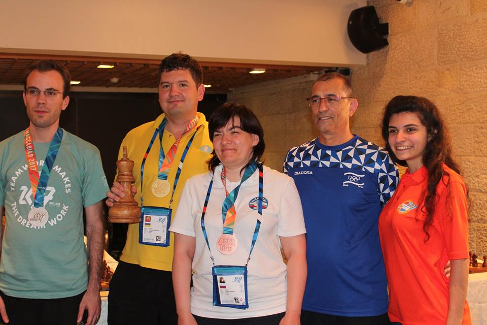 MaccabiahBlitz winners