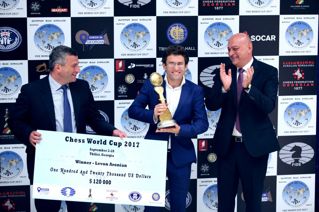 FIDE World Cup 2017 Closing Ceremony. Photo by: Anastasia Karlovich