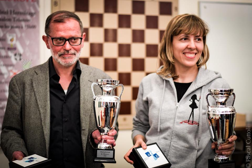 championnat de monaco 2018 GM Igor Efimov WGM Tatiana Dornbusch