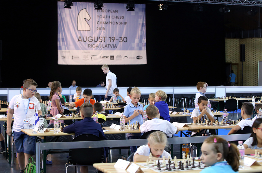 european youth chess championship coming to its conclusion