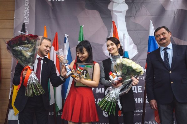 Ju Wenjun defends the title of FIDE Women s World Chess Champion d748d9ed9d4