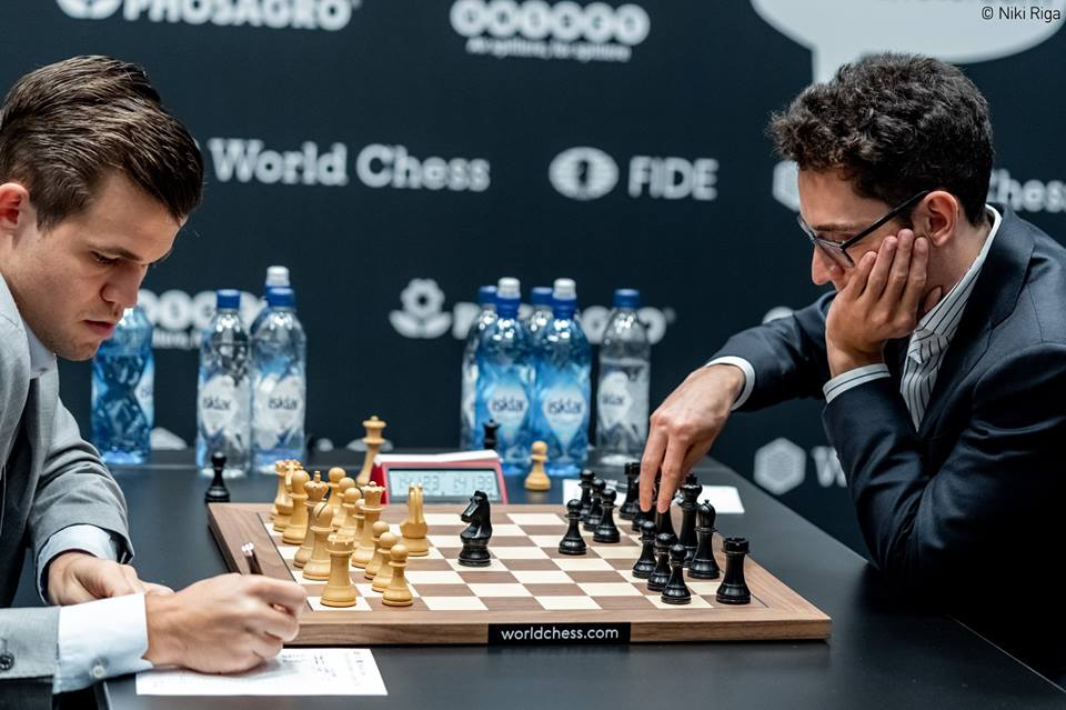 fide world chess championship match 2018 – r8 report