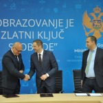 Signing the Agreement in Podgorica, Montenegro