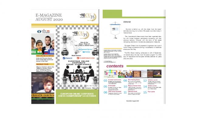Ecu Calendar 2022.Ecu E Magazine August 2020