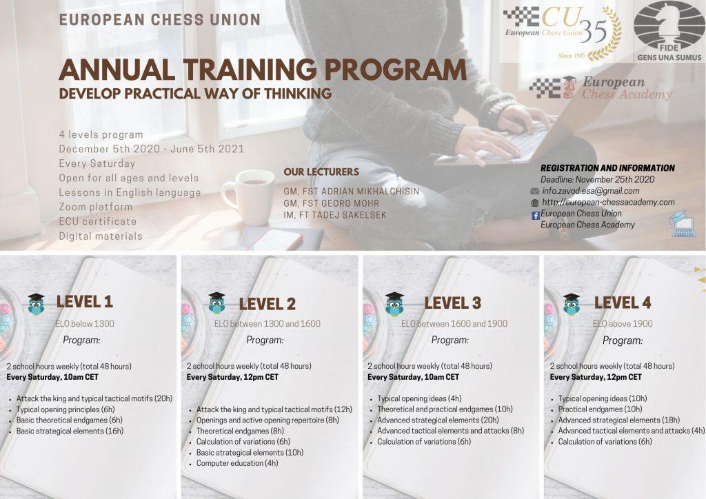 Ecu Calendar 2022.Ecu Annual Training Program Develop Practical Way Of Thinking